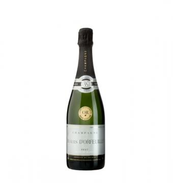Champagne Hugues d'Orfeuille brut blanc de blanc