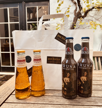 The Per Bacco non-alcolico apero bag!!