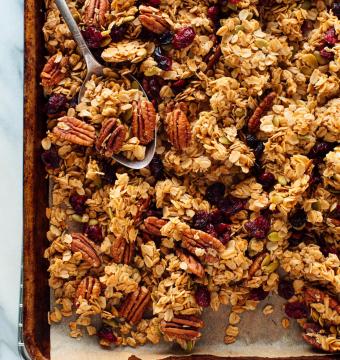 Huisgemaakte granola