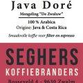 Java Doré - Seghers koffie